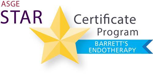 ASGE   STAR Certificate Programs
