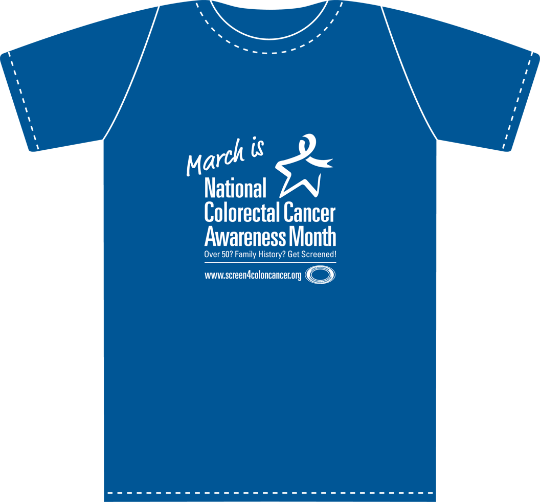 Asge National Colorectal Cancer Awareness Month T Shirt