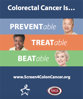 Asge National Colorectal Cancer Awareness Month